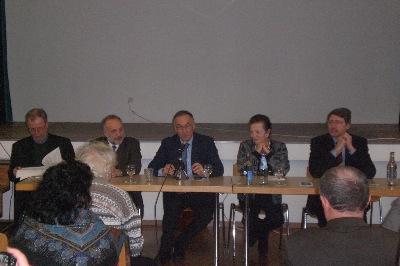 Relatori: Padre G.Tassello / Prof. A.Bondolfi / Dottoressa S. Centanni / Dr. med. F.Tanzi